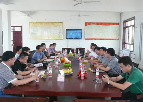 济南企业英才高级研修班的领导和同学们莅临公司指导检查