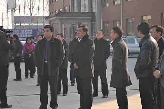 济南市援藏领导白朗县、郭象峥书记莅临华北检查指导工作